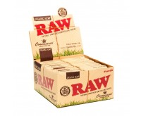 RAW Connoisseur Organic Hemp Papers und Filter Tips | King-Size Slim